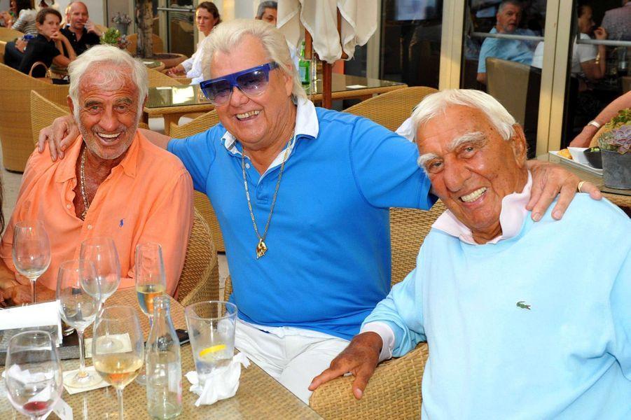 Michou avec Jean-Paul Belmondo et Charles Gérard