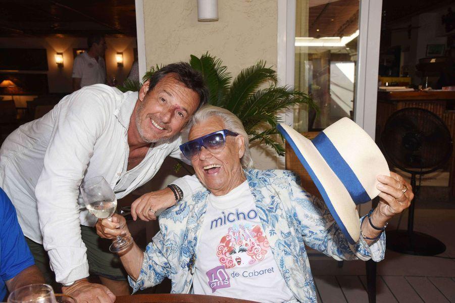 Michou avec Jean-Luc Reichmann