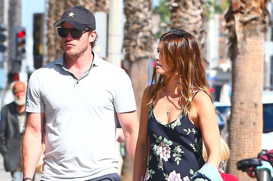 Chris Pratt et Katherine Schwarzenegger en octobre 2018