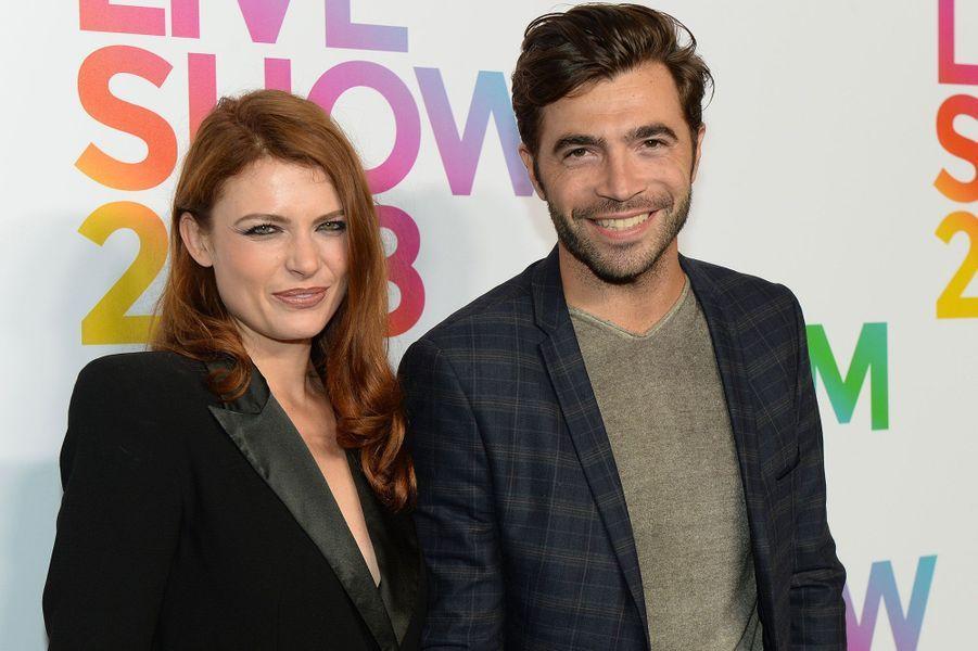 Elodie Frégé et Gian Marco en septembre 2018