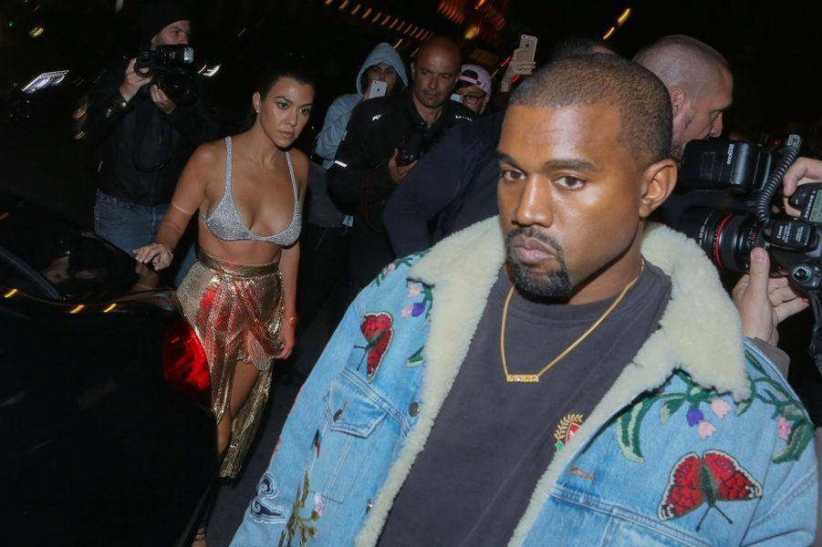 Kourtney Kardashian et Kanye West