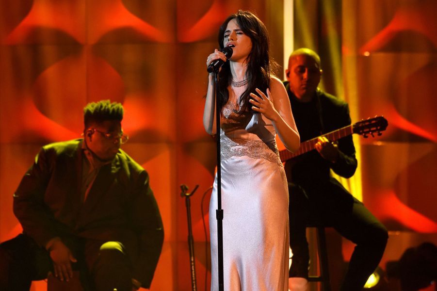 Camila Cabello lors des Billboard Women in Music 2017, le 30 novembre 2017.