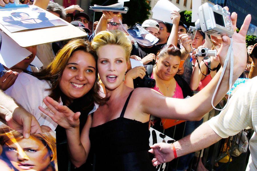 Charlize Theron à Los Angeles en septembre 2005