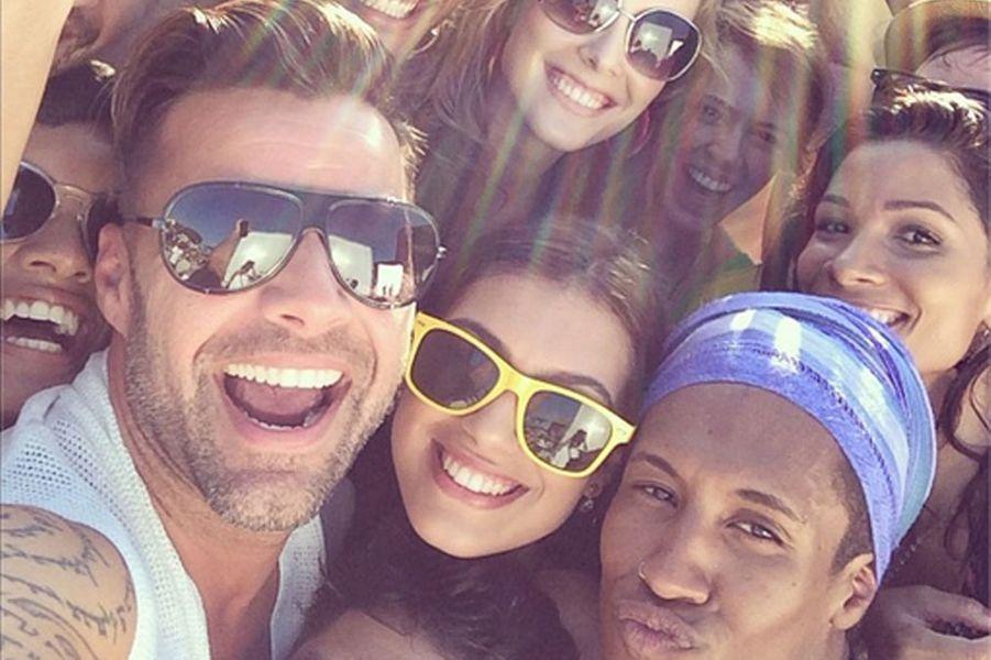Ricky Martin en mars 2014