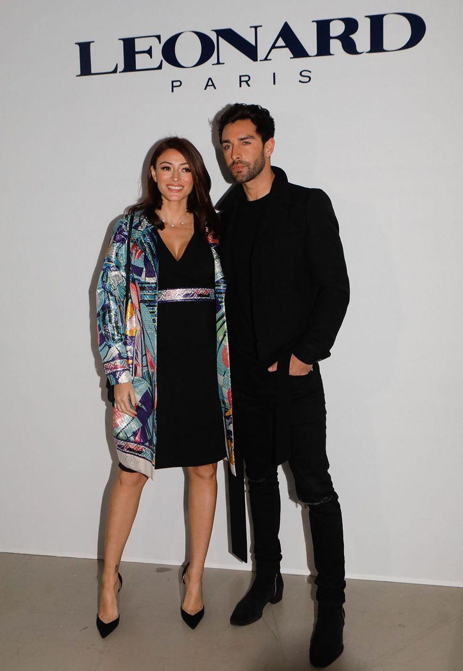 Rachel Legrain-Trapani et Valentin Leonardau défilé Léonard à Paris le 27 février 2020