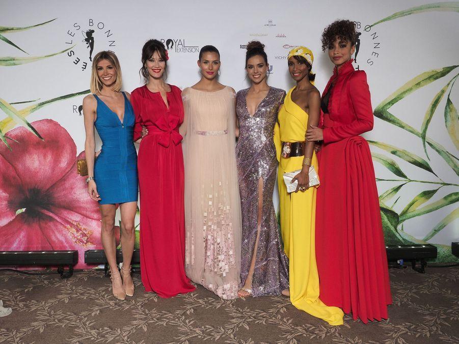 Alexandra Rosenfeld, Mareva Galanter, Camille Cerf, Marine Lorphelin, Sonia Rolland et Flora Coquerel à Paris le 20 mars 2019