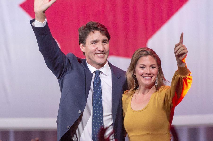 Sophie et Justin Trudeau