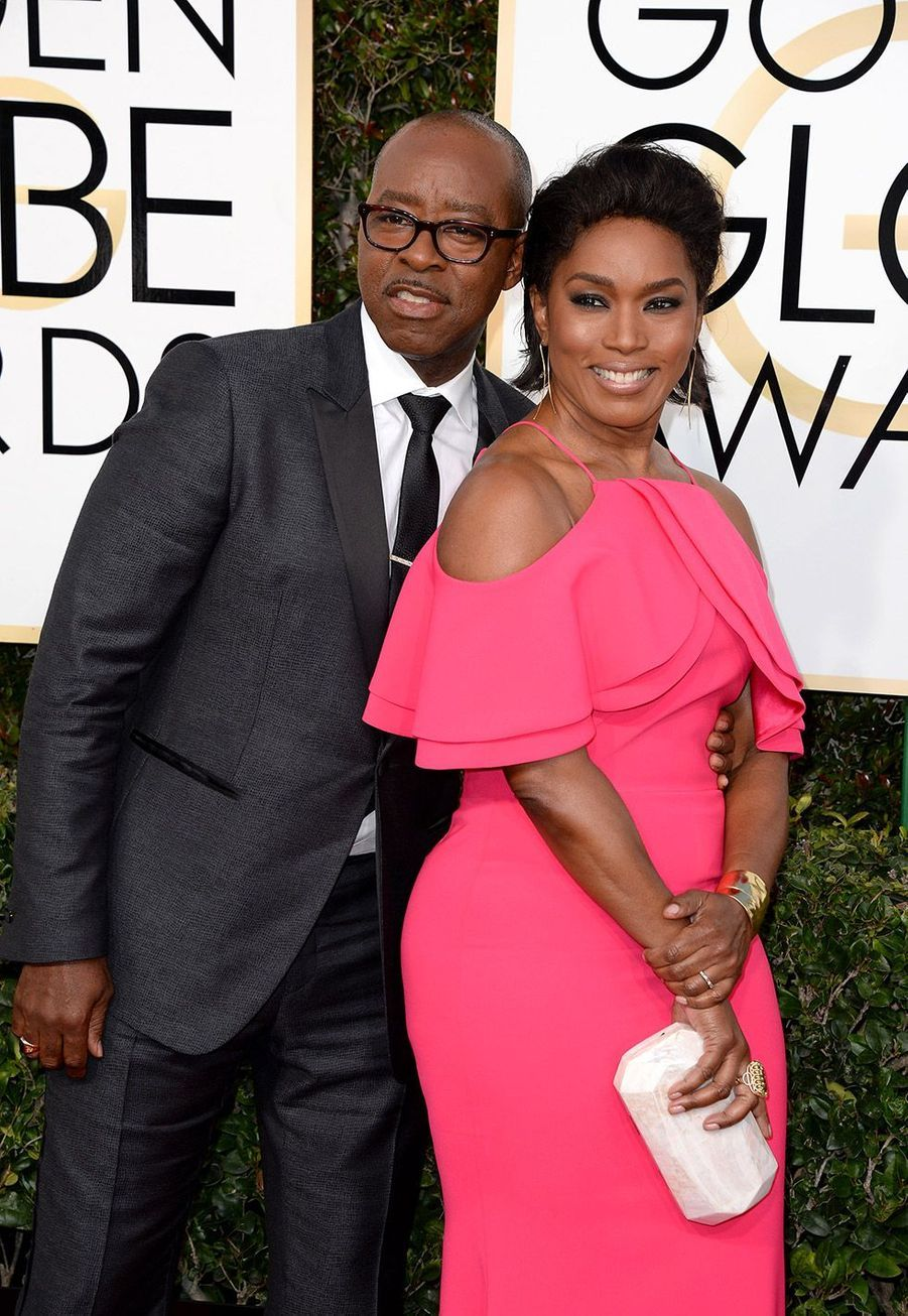 Courtney B. Vance et Angela Bassett