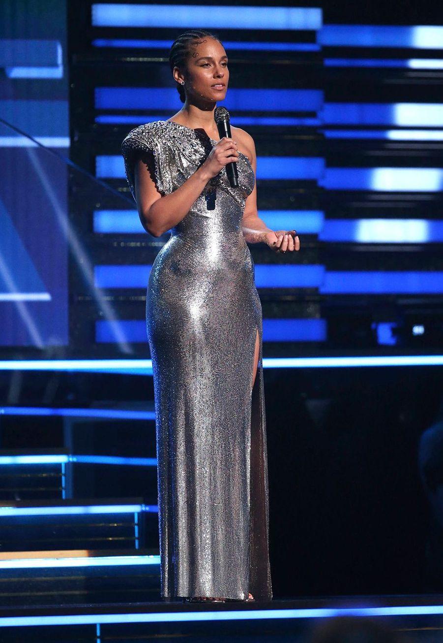 Alicia Keysà la soirée des Grammy Awards à Los Angeles le 26 janvier 2020.