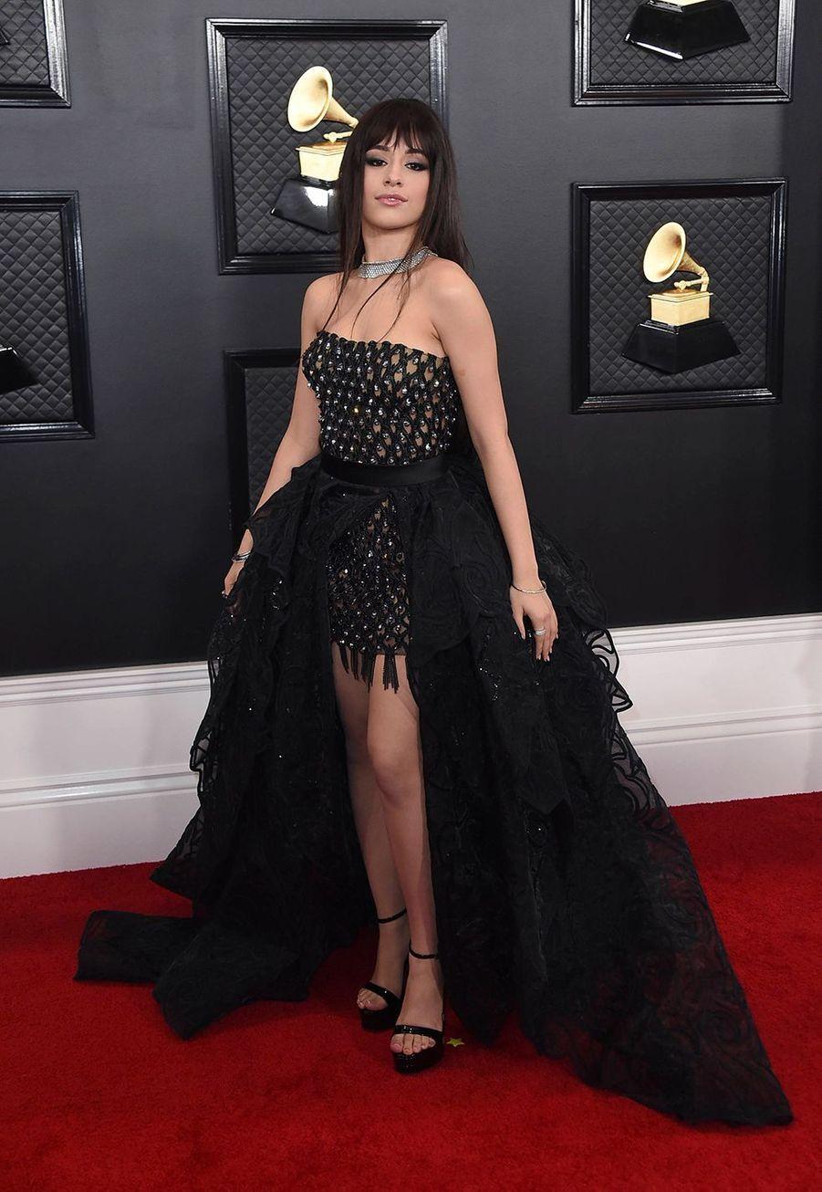 Camila Cabelloà la soirée des Grammy Awards à Los Angeles le 26 janvier 2020.