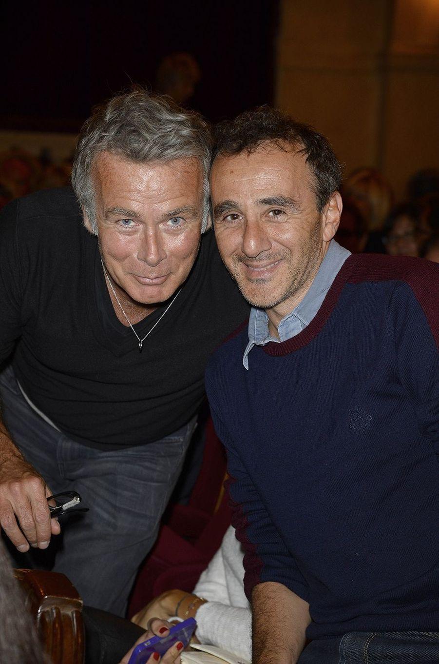 Franck Dubosc et Elie Semoun : les acolytes des «Petites Annonces». Un duo incontournable dont les sketchs cultes des années 1990 amusent toujours autant.