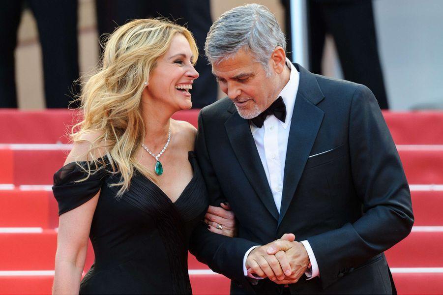 Julia Roberts et George Clooney : duo hollywoodien. Rencontrés pour la première fois au début des années 2000 sur le tournage d'«Ocean's Eleven», les deux acteurs se sont retrouvés en 2016 pour se donner la réplique dans «Money Monster».