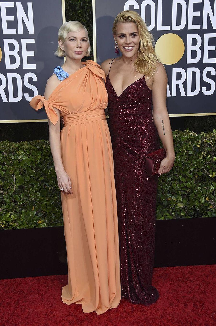 Michelle Williams et Busy Philipps : plus que simples collègues. Rencontrées au début des années 2000 sur le tournage de «Dawson», elles sont comme les deux doigts de la main.