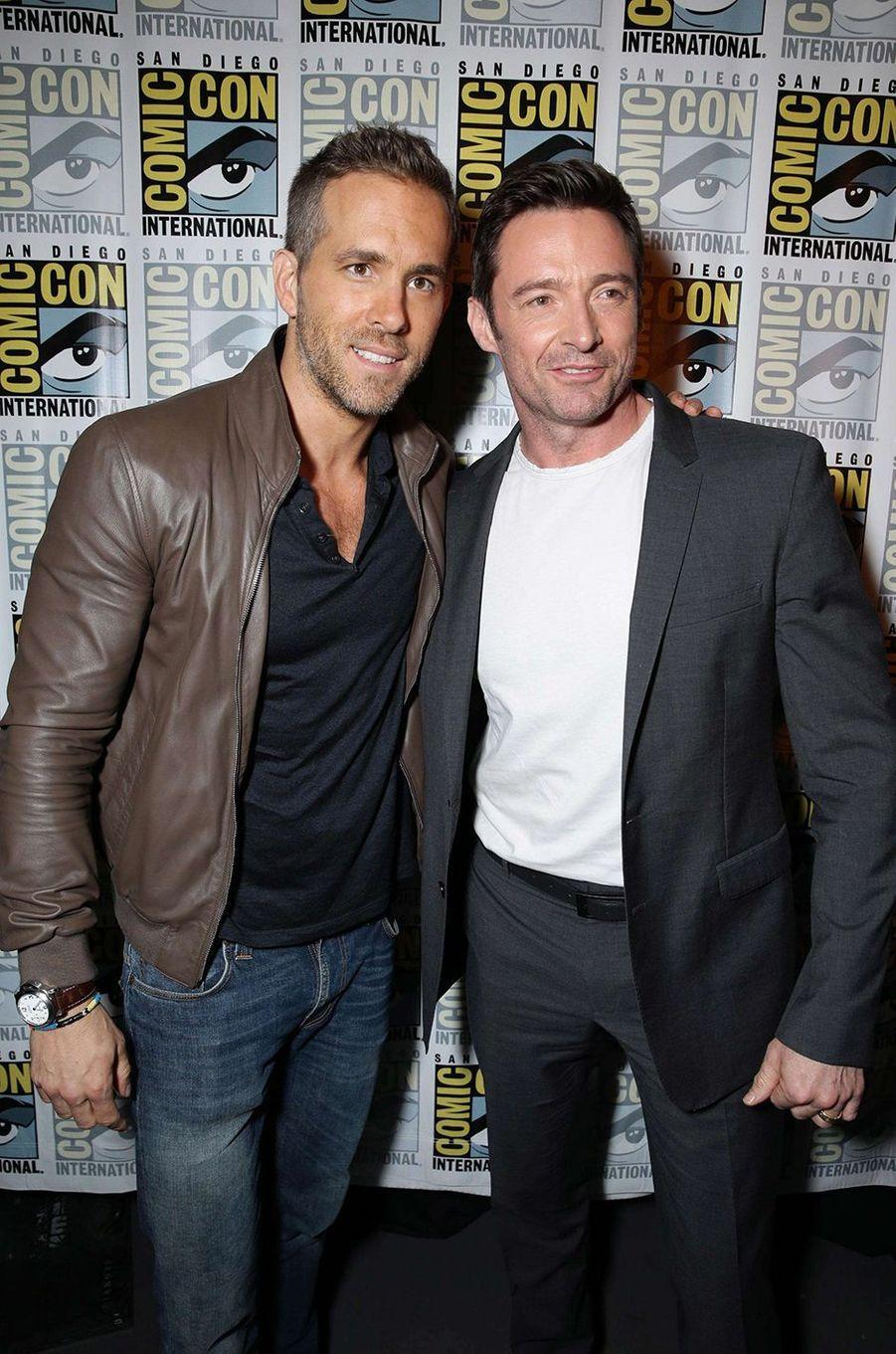 Ryan Reynolds et Hugh Jackman : les super-héros de l'humour. Les deux acteurs ont l'une des relations les plus amusantes du showbiz et ne manquent jamais une occasion de se vanner. Ils s'étaient donné la réplique en 2009 dans «X-Men Origins: Wolverine».