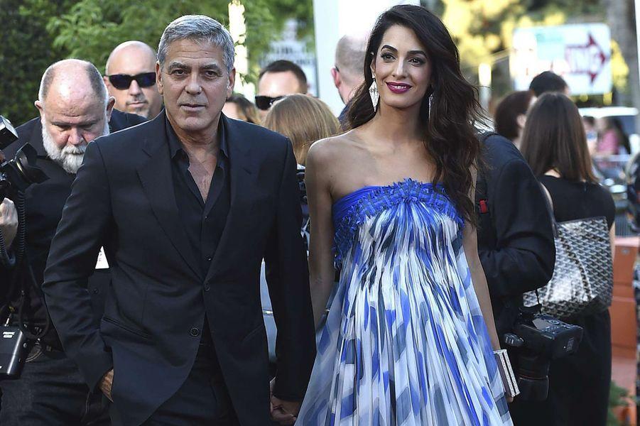 George et Amal Clooney.