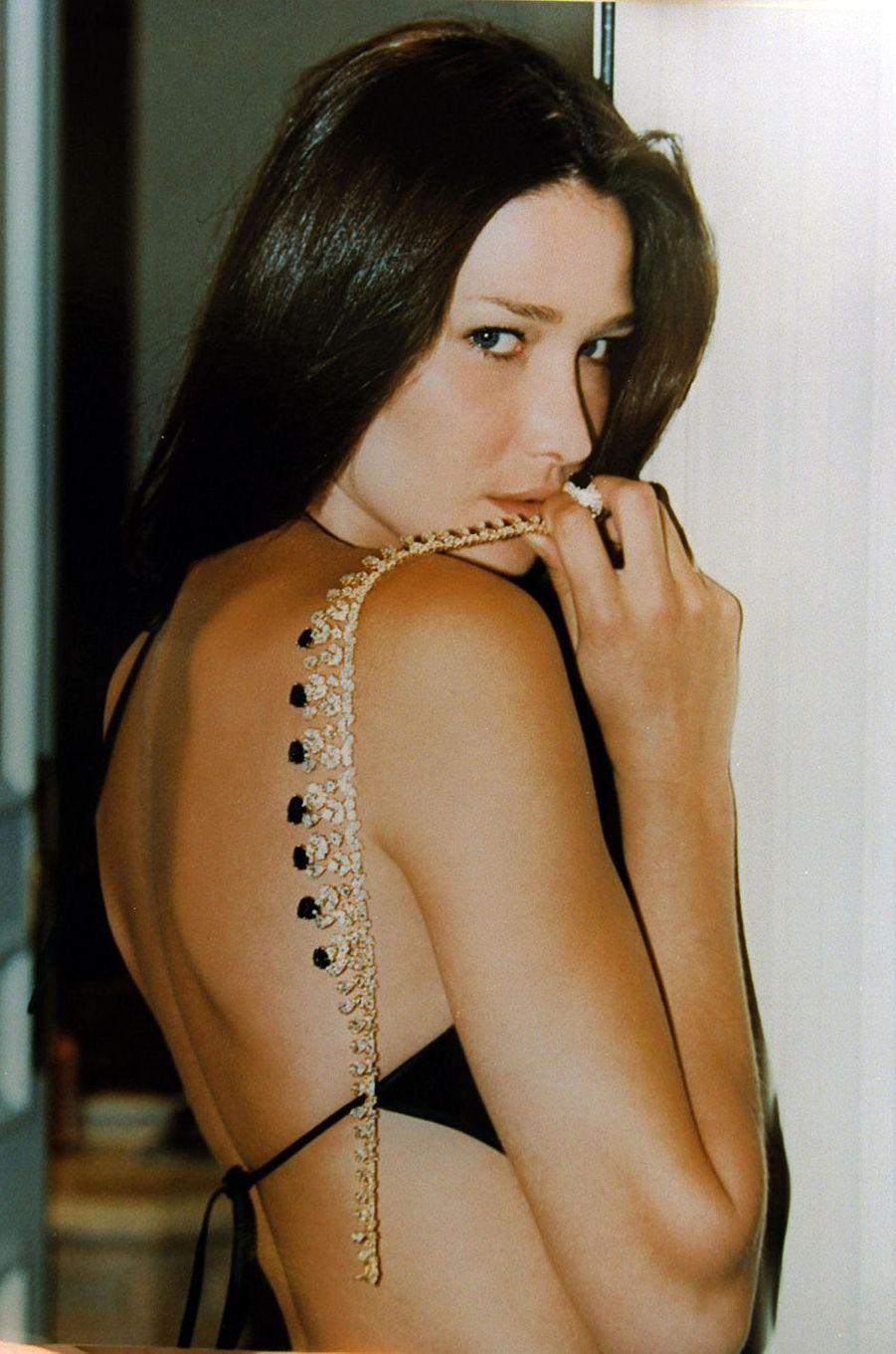 Carla Bruni à Cannes, en mai 2000.