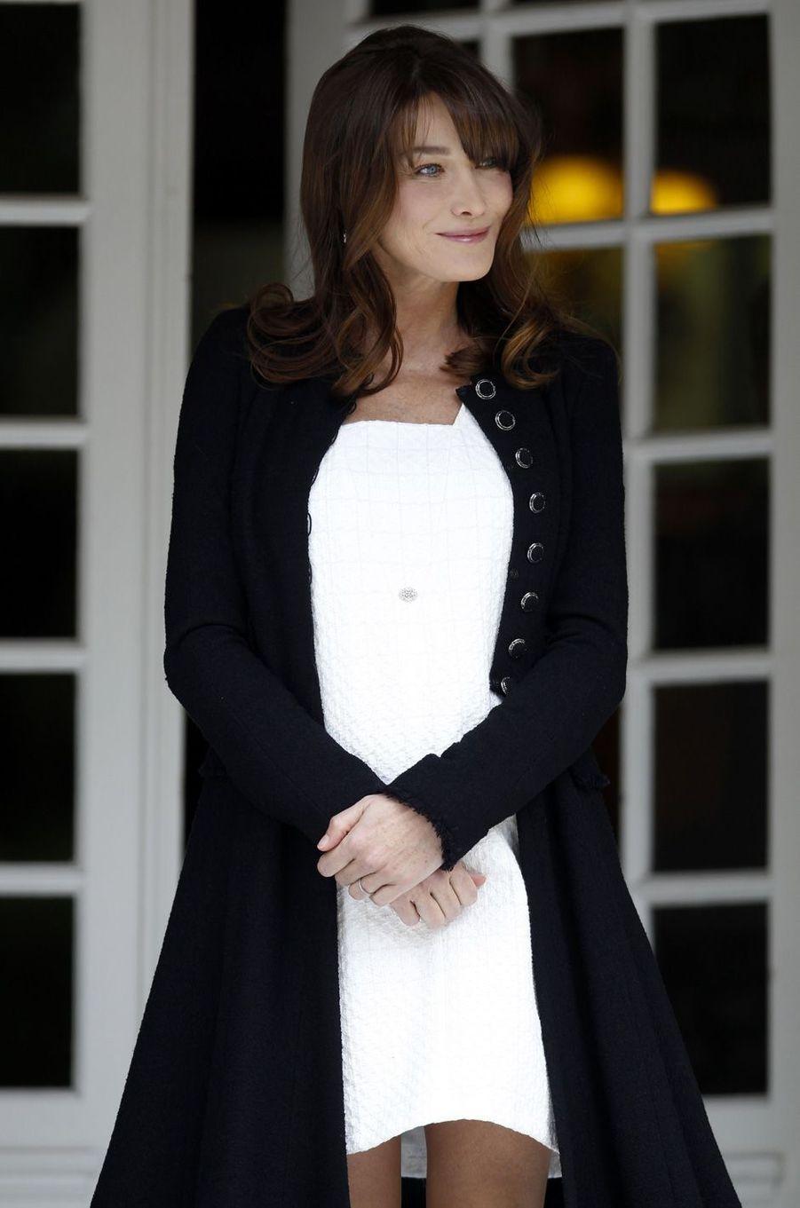 Carla Bruni à Deauville, en mai 2011.