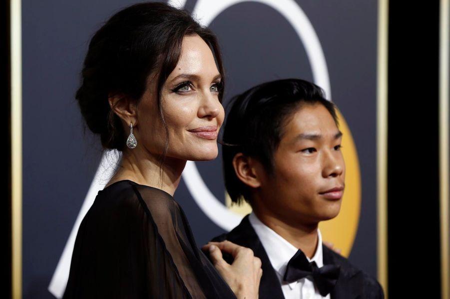 Angelina Jolie et Pax