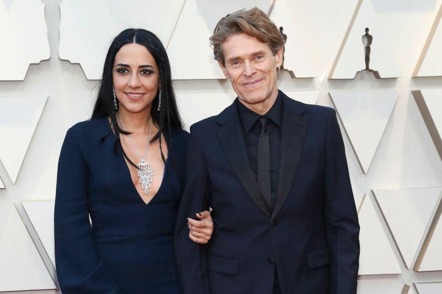 Willem Dafoe et son épouse
