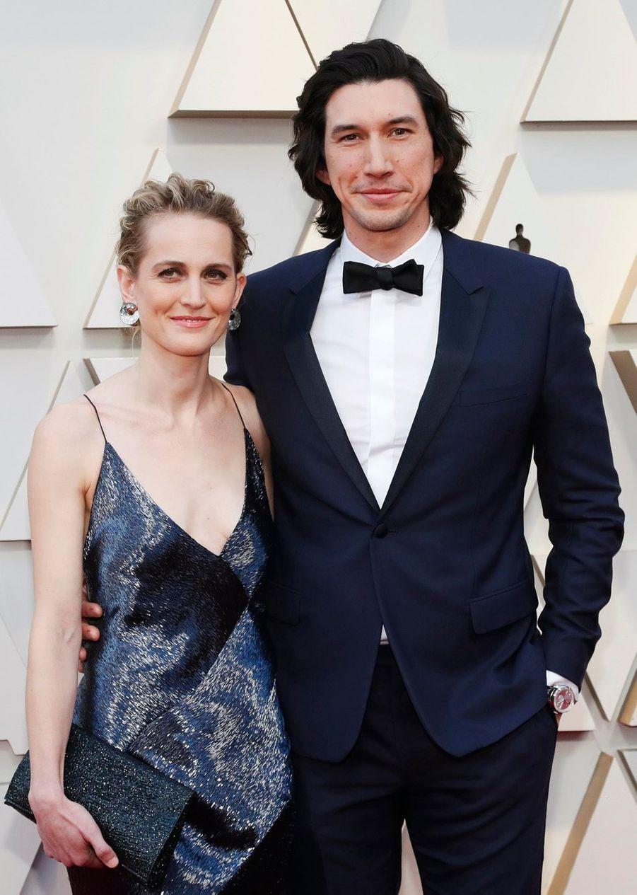 Adam Driver et sa compagne Joanne Tucker