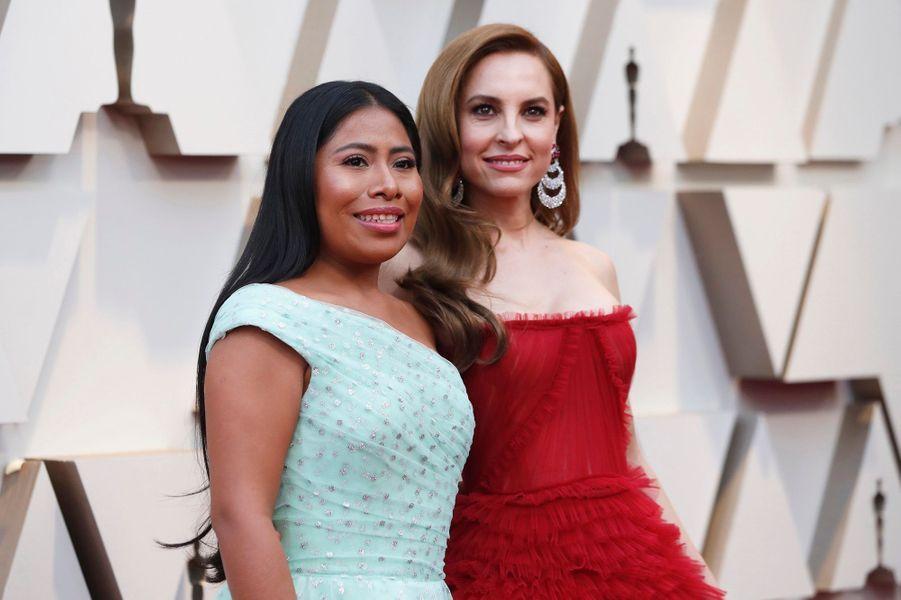 Yalitza Aparicio et Marina de Tavira