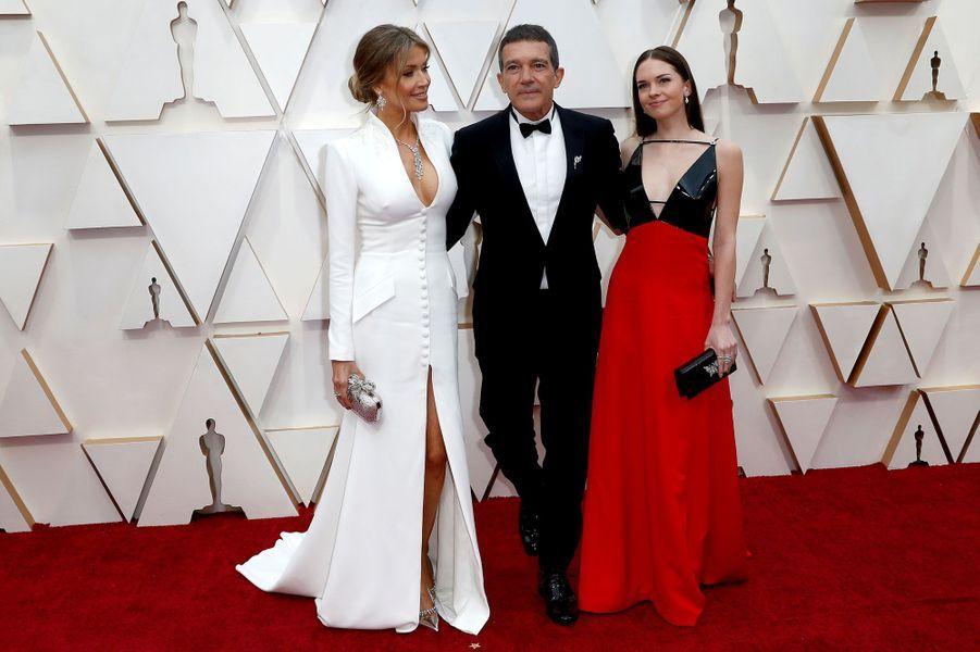 Antonio Banderas, Nicole Kimpel et Stella Banderas