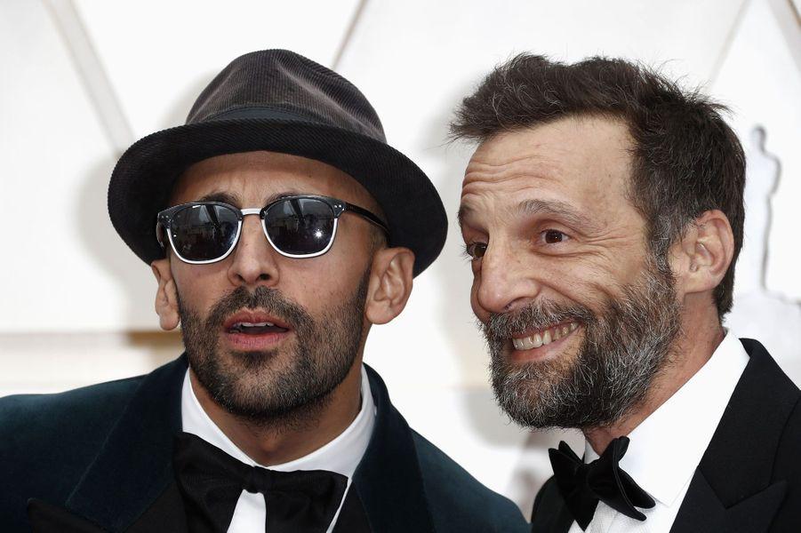 JR et Mathieu Kassovitz