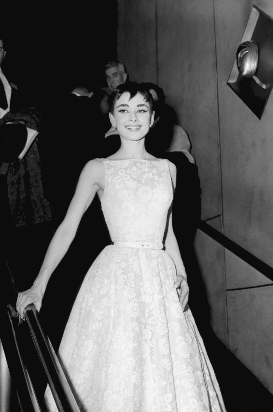 Audrey Hepburn Givenchy en 1954