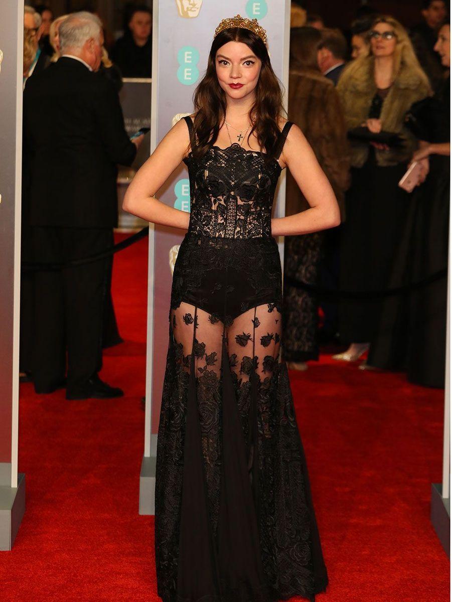 Anya Taylor-Joy en Dolce & Gabbana