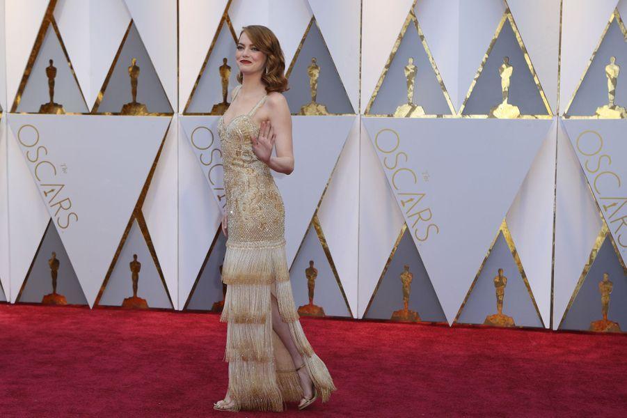 Emma Stone en Givenchy.