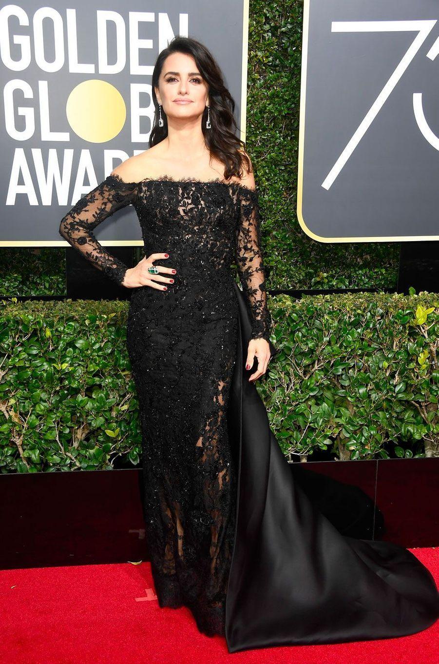 Penelope Cruz aux Golden Globes