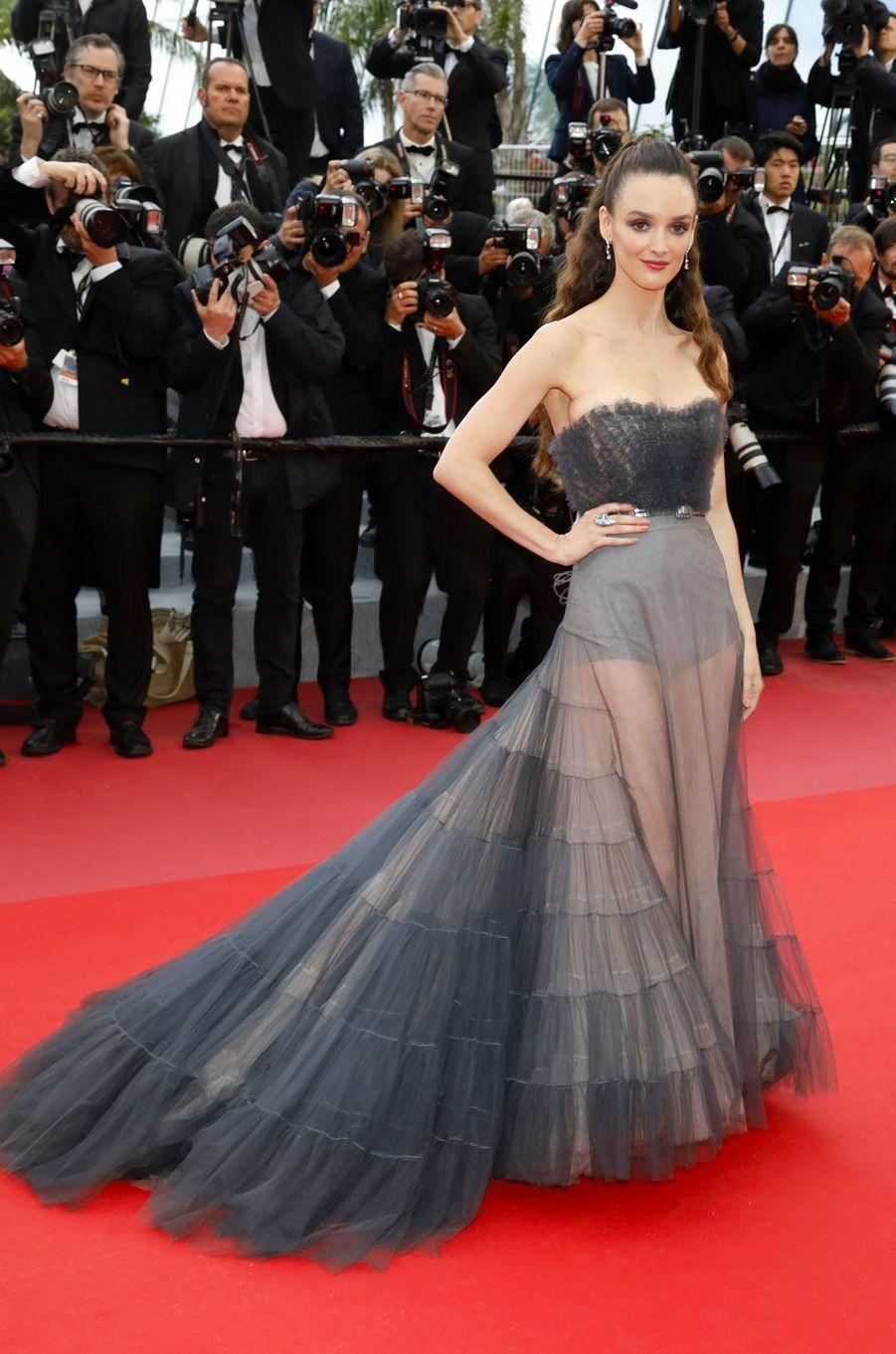 Charlotte Lebon au Festival de Cannes