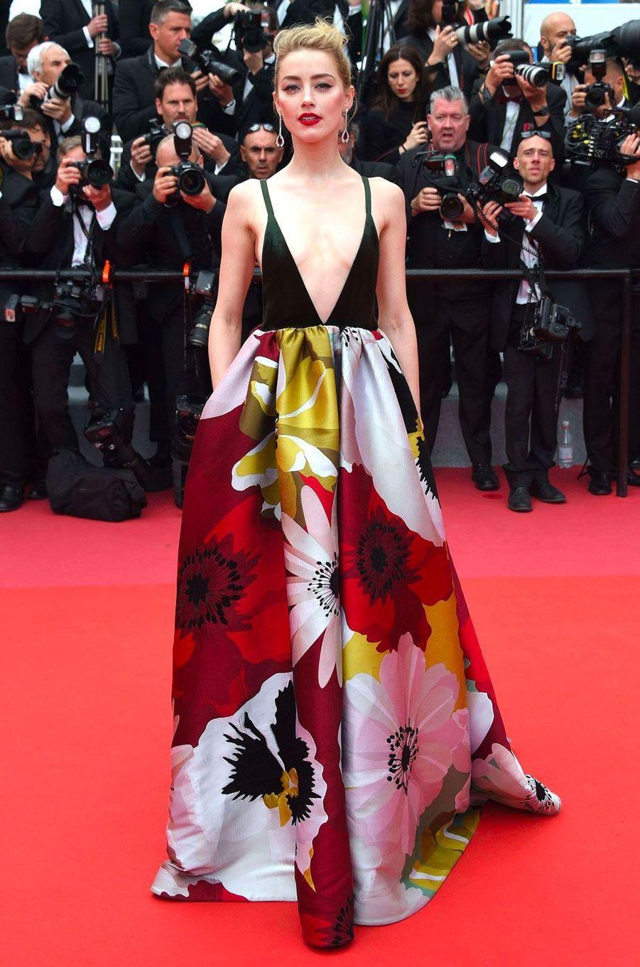 Amber Heard au Festival de Cannes