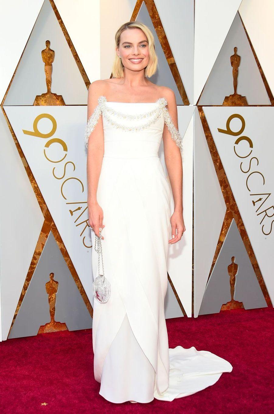 Margot Robbie aux Oscars