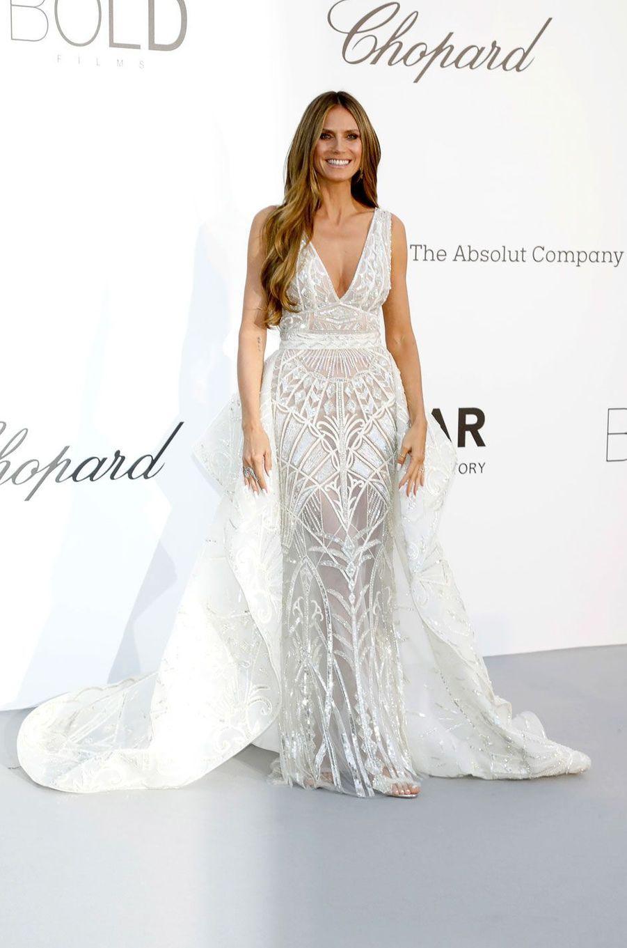 Heidi Klum au gala de l'amfar