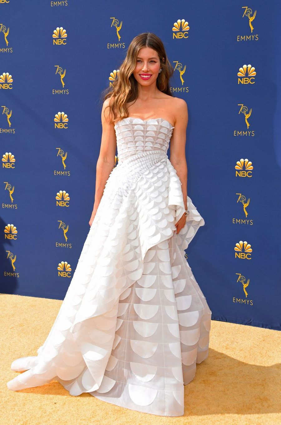 Jessica Biel aux Emmy's