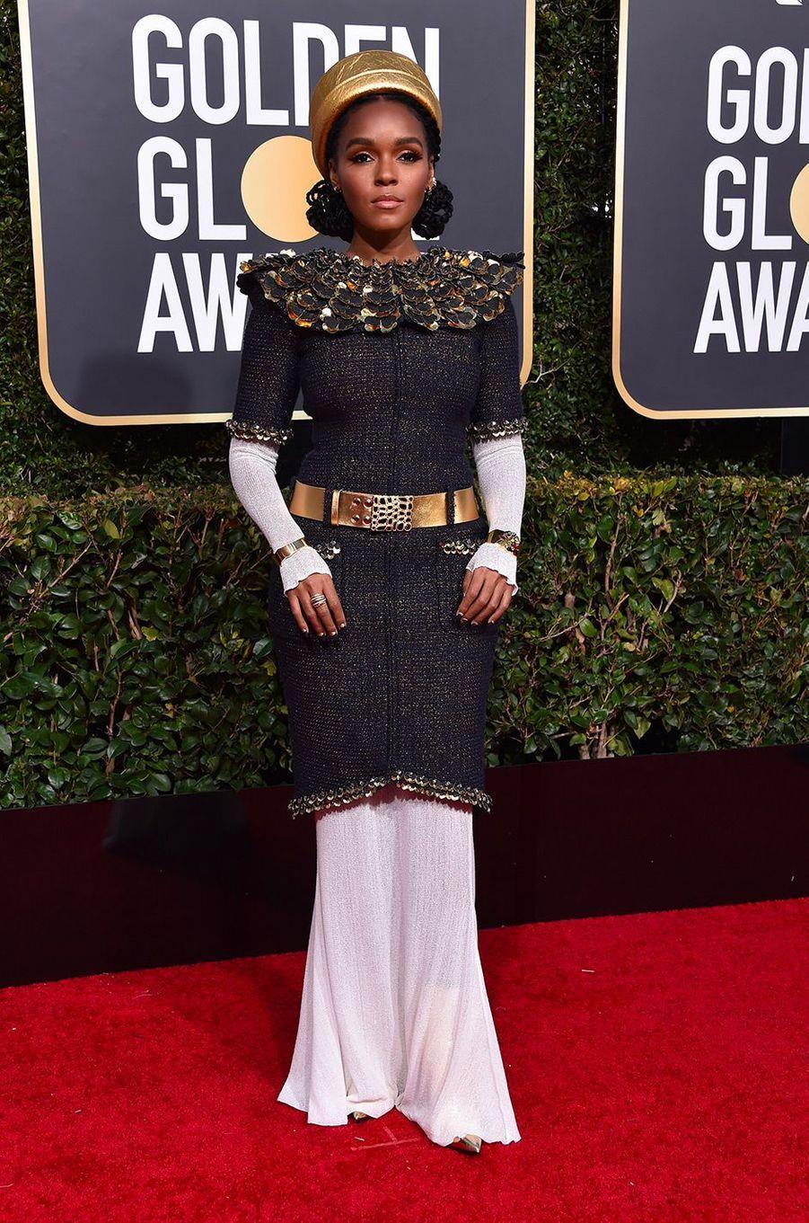 Janelle Monae en tenue Chanel