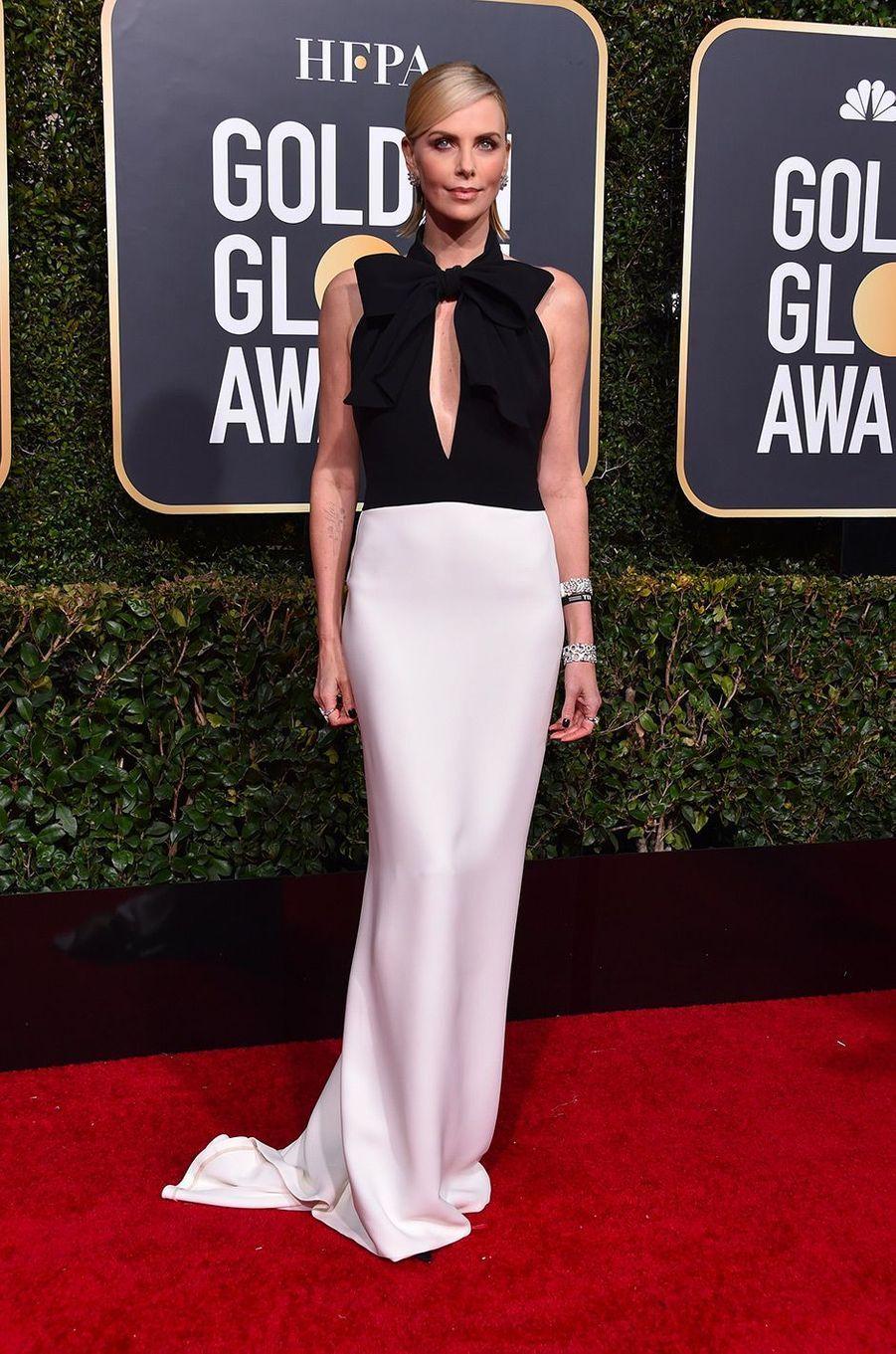 Charlize Theron en robe Dior