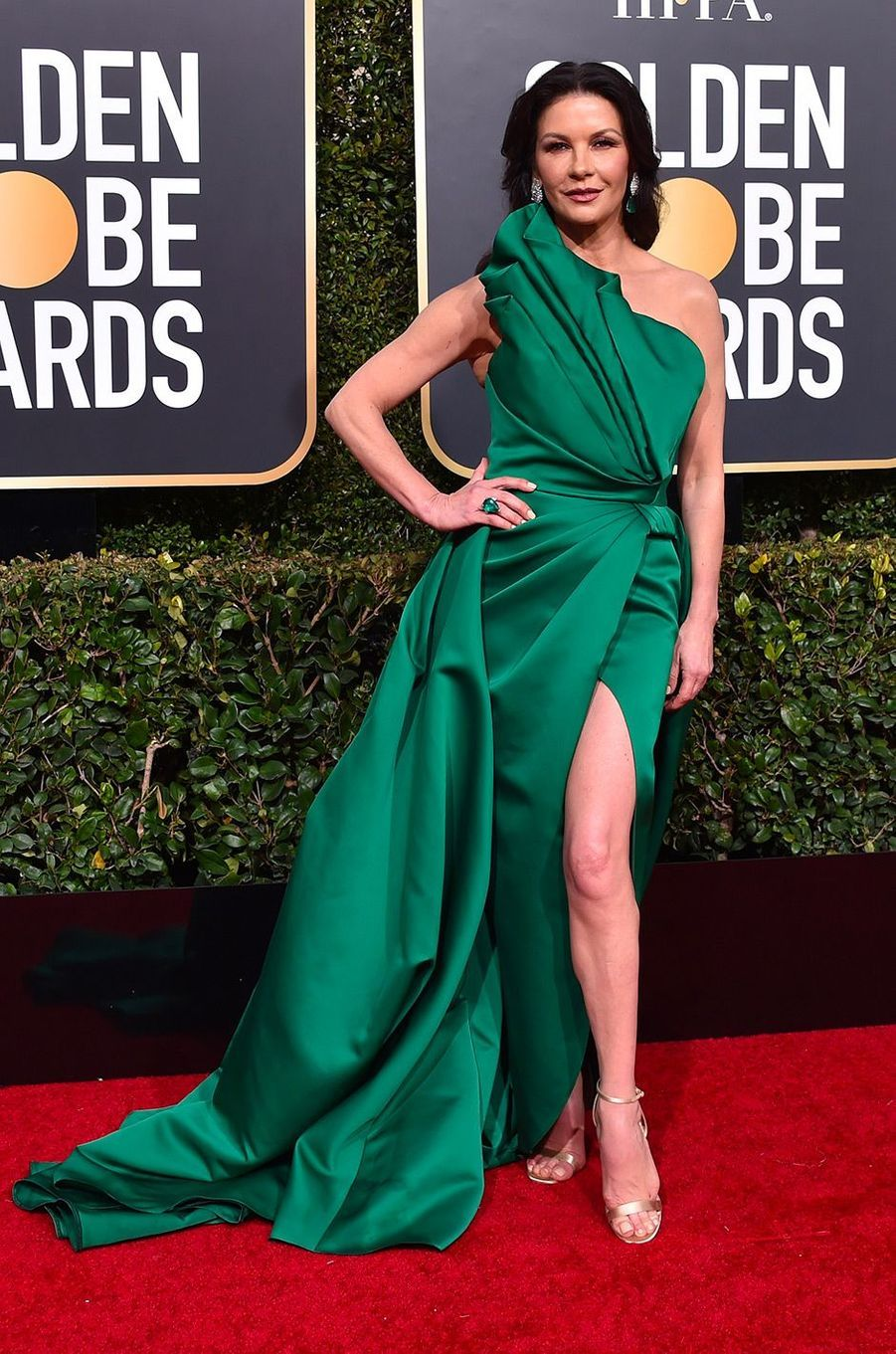 Catherine Zeta Jones en robe Elie Saab