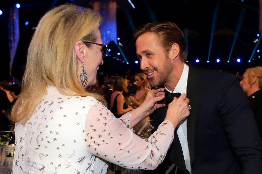 Meryl Streep et Ryan Gosling