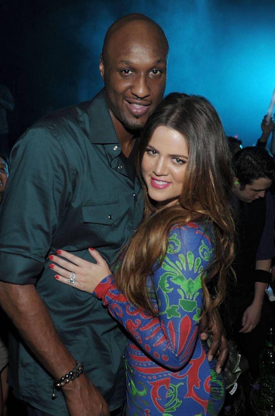 Khloé Kardashian (ici avec Lamar Odom en 2011) : la cadette du clan a été trompée et humiliée de nombreuses fois par le basketteur (jusqu'à son overdose dans une maison close en 2015) avant d'obtenir le divorce en 2016.