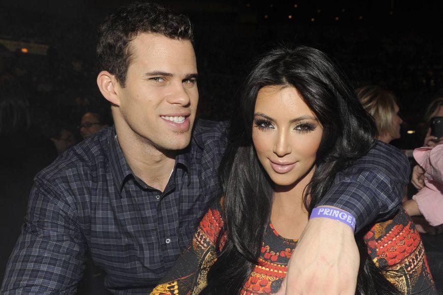 Kim Kardashian (ici avec Kris Humphries en 2011) : des années après sa sextape, Kim a expérimenté un nouvel échec cuisant en restant mariée 72 jours au basketteur. Accusée d'avoir orchestré des noces pour l'audimat, elle avait obtenu le divorce en 2013, quelques semaines avant la naissance de sa fille North.