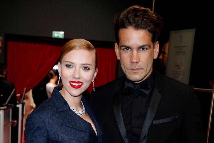 Scarlett Johansson et Romain Dauriac ont annoncé leur séparation en janvier 2017, après 5 ans de relation dont 3 de mariage.
