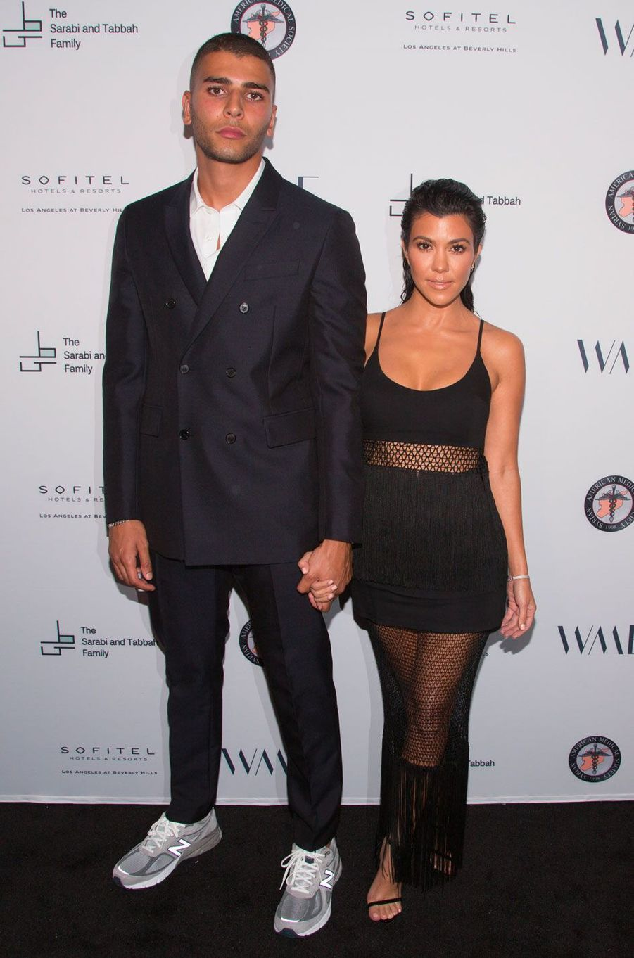 Kourtney Kardashian et Younes Bendjima