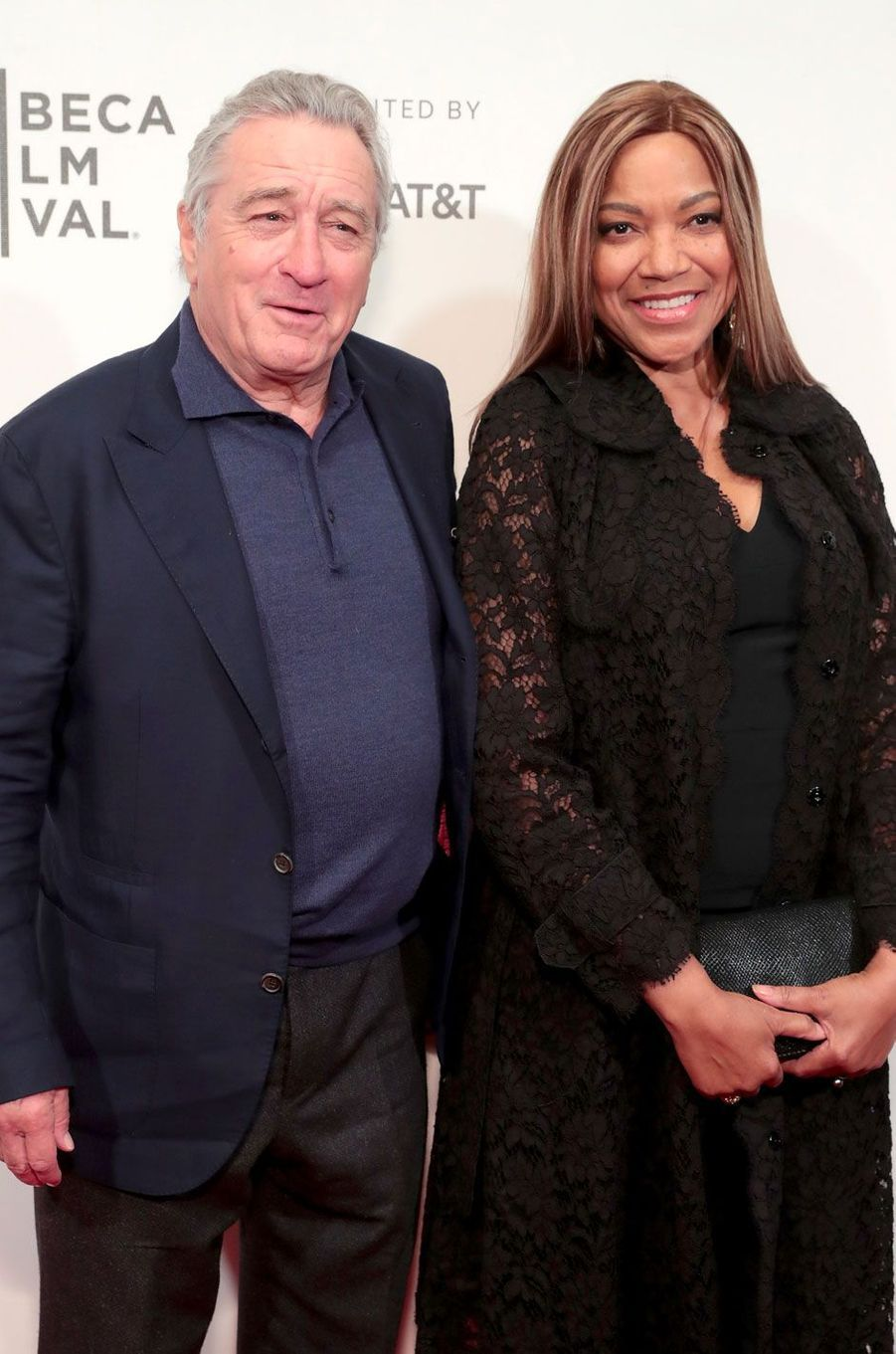 Robert de Niro et Grace Hightower Cindy Ord / GETTY IMAGES NORTH AMERICA / AFP