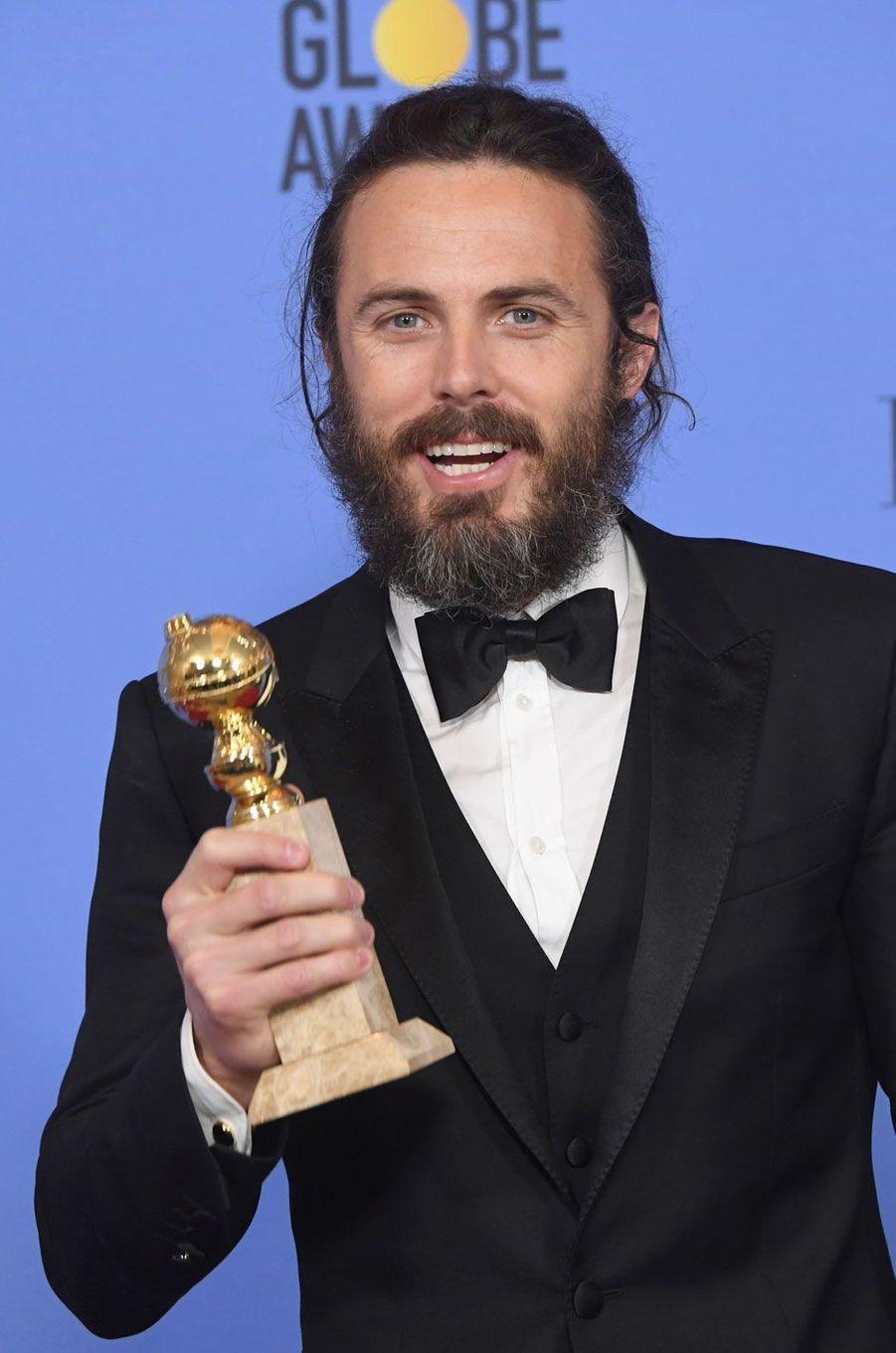 Casey Affleck, gagnant du Prix du Meilleur acteur dans un film d'animation