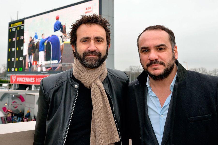 Mathieu Madénian et François-Xavier Demaison