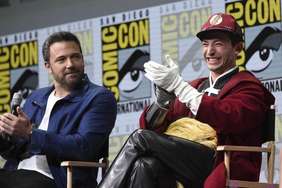 Ben Afflecklors du Comic-Con de San Diego.