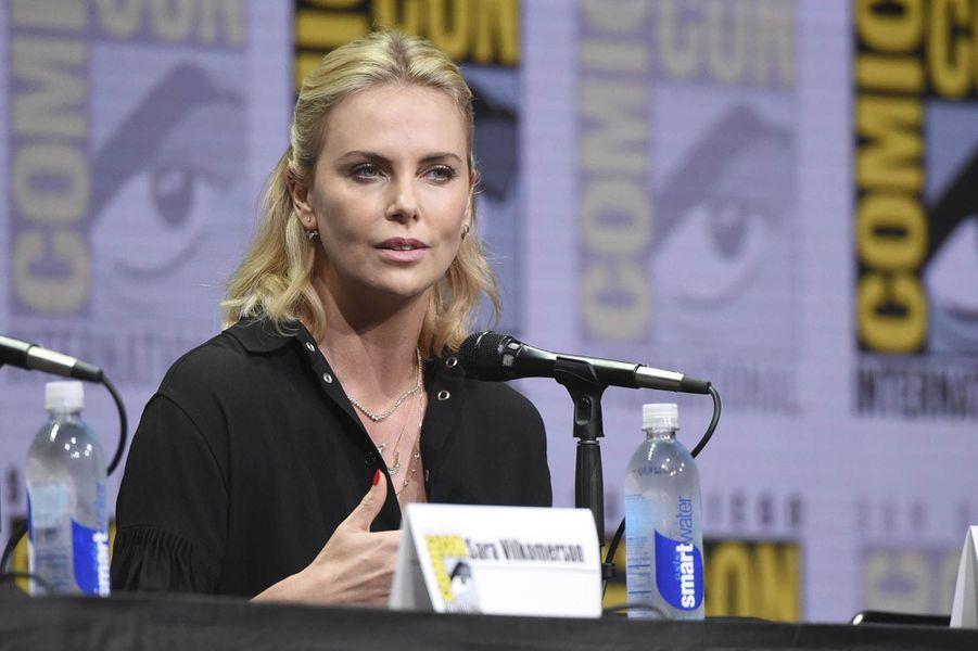 Charlize Theron lors du Comic-Con de San Diego.
