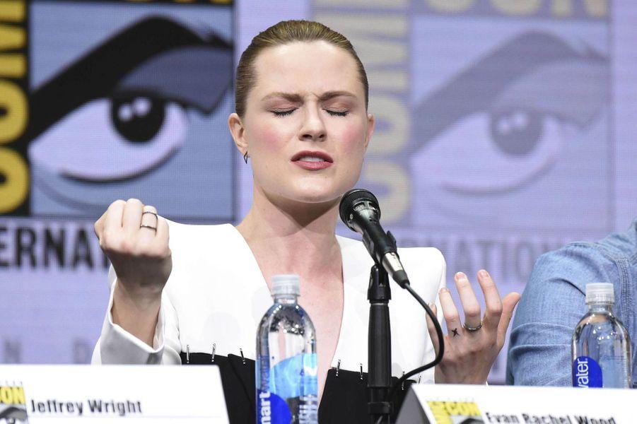 Evan Rachel Wood lors du Comic-Con de San Diego.